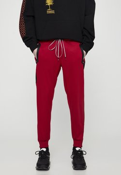 PULL&BEAR - Jogginghose - red