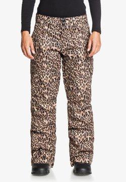 DC Shoes - NONCHALANT  - Skibroek - leopard fade