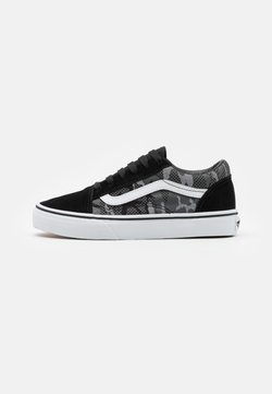 Vans - OLD SKOOL - Sneakers laag - black/true white