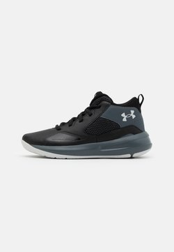 Under Armour - LOCKDOWN 5 UNISEX - Zapatillas de baloncesto - black