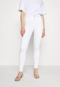 Monki - OKI - Slim fit jeans - white light unique