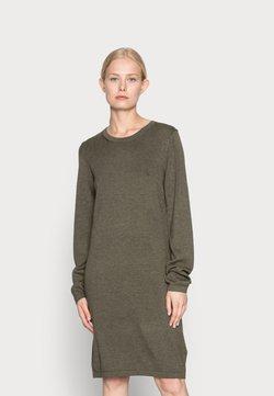 edc by Esprit - DRESS - Vestido de punto - dark khaki