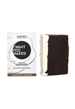 I WANT YOU NAKED - FACE SOAP - Seife - kakaobutter & macadamia-öl