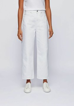 BOSS - Relaxed fit jeans - natural