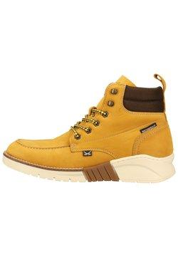 Sansibar Shoes - Schnürstiefelette - mittelbraun