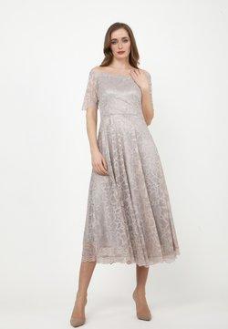 Madam-T - AZALIA - Cocktailkleid/festliches Kleid - grau
