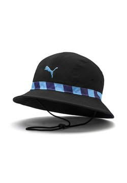 Puma - CITY CULTURE - Hattu - black team light blue