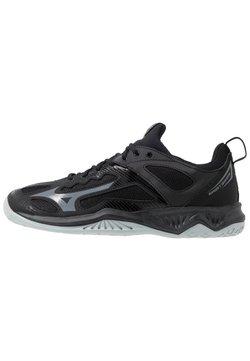 Mizuno - GHOST SHADOW - Zapatillas de balonmano - black/steel gray