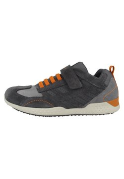 Geox - Sneaker low - grey-dark orange