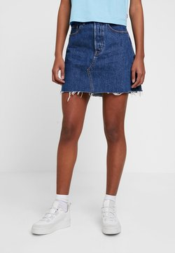 Levi's® - DECON ICONIC SKIRT - A-Linien-Rock - dark-blue denim