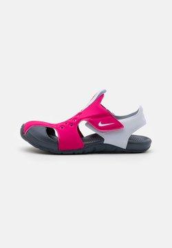 Nike Performance - SUNRAY PROTECT 2 UNISEX - Sandały kąpielowe - fireberry/football grey/thunder blue