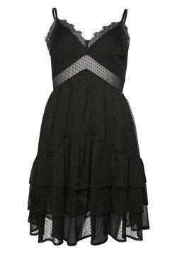 Superdry - Cocktailkleid/festliches Kleid - black