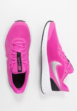Nike Performance - REVOLUTION 5 UNISEX - Juoksukenkä/neutraalit - active fuchsia/metallic silver/black