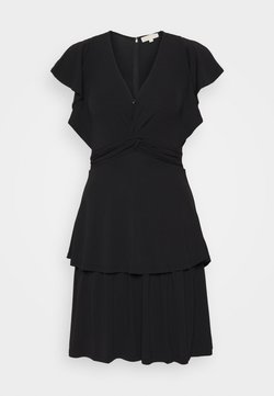 MICHAEL Michael Kors - TWIST RUFFLE DRESS - Jerseyjurk - black