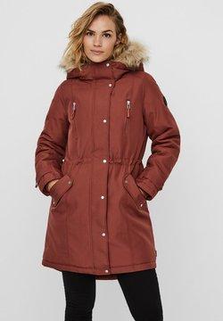 Vero Moda - Wintermantel - mahogany