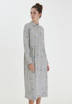 ICHI - Vestido camisero - alloy