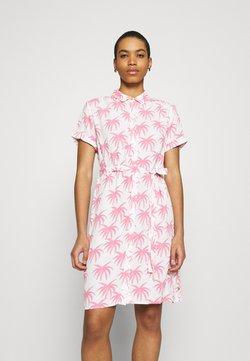 Fabienne Chapot - BOYFRIEND CARA DRESS - Blousejurk - white/pink