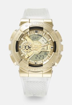 G-SHOCK - GOLD-INGOT TRANSPARENT GM-110SG UNISEX - Zegarek cyfrowy - gold-coloured/transparent