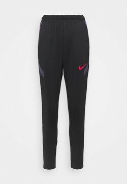 Nike Performance - PANT - Pantaloni sportivi - black/dark raisin/siren red