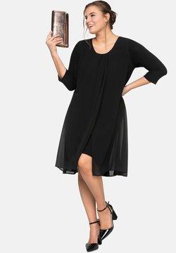 Sheego - Vestido ligero - black