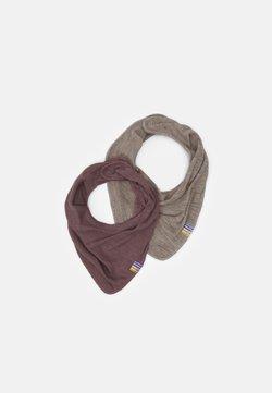 Joha - SCARF 2 PACK - Schal - berry/mottled light brown