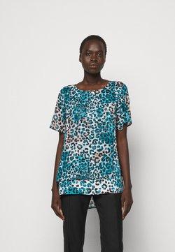 DKNY - T-Shirt print - ivory gemstone/black/multi