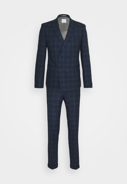 Viggo - TENN DOUBLE BREASTED SUIT - Garnitur - navy