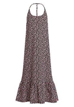 WE Fashion - MET STIPPENDESSIN - Jerseykleid - black