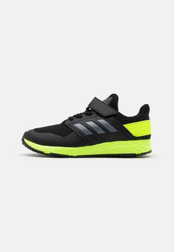 adidas Performance - FORTAFAITO KIDS NEXT SPORTS RUNNING SHOES - Hardloopschoenen neutraal - core black/grey four/signal green