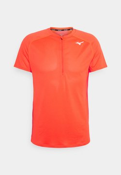 Mizuno - TRAIL TEE - Funktionsshirt - ignition red
