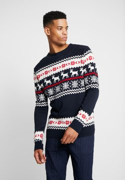 Urban Classics - NORWEGIAN CHRISTMAS - Neule - navy