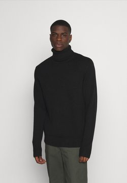 Jack & Jones - JORCLYDE - Strickpullover - black