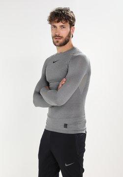 Nike Performance - PRO COMPRESSION - Unterhemd/-shirt - carbon heather/black/(black)