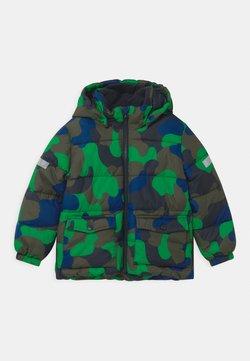 Lindex - HEAVY PADDED - Vinterjakker - dark khaki green