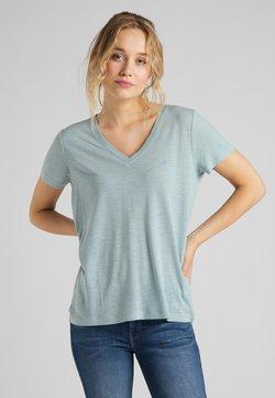 Lee - Camiseta estampada - faded blue