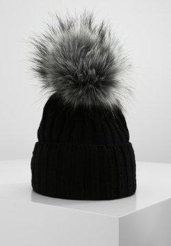 Sätila - MIT STYLISHEM BOMMEL - Mütze - black