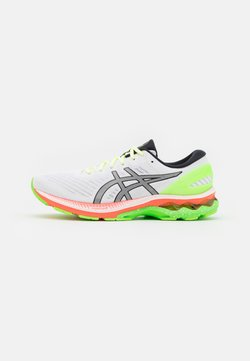 ASICS - GEL-KAYANO 27 SUMMER LITE SHOW - Zapatillas de running estables - white/pure silver