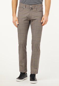 Pierre Cardin - VOYAGE LYON - Straight leg jeans - braun