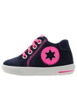 Superfit - MOPPY - Sneakers hoog - blau/rosa