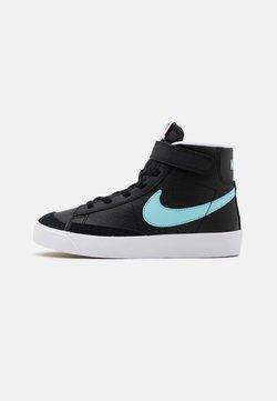 Nike Sportswear - NIKE BLAZER MID '77 UNISEX - Sneakersy wysokie - black/glacier ice/white/pink glow