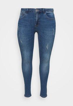 ONLY Carmakoma - CARKARLA - Jeans Skinny Fit - medium blue denim