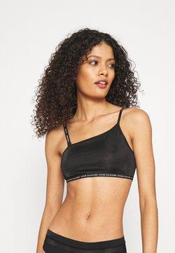 Calvin Klein Underwear - ONE GLISTEN UNLINED BRALETTE - Alustoppi - black