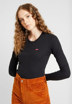 Levi's® - BABY TEE - Langarmshirt - black