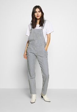Marc O'Polo DENIM - OVERALL RELAXED FIT - Salopette - spring wash