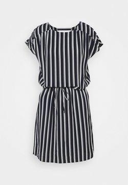 Vero Moda Tall - VMSASHA BALI SHORT DRESS - Freizeitkleid - navy blazer/coco