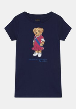 Polo Ralph Lauren - BEAR - Jerseykleid - newport navy