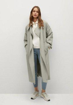 Mango - Klassinen takki - vert pastel