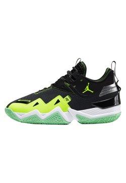 Jordan - WESTBROOK ONE TAKE - Chaussures de basket - black/volt-white-green glow