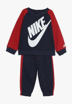 Nike Sportswear - OVERSIZED FUTURA CREW BABY SET UNISEX - Survêtement - midnight navy