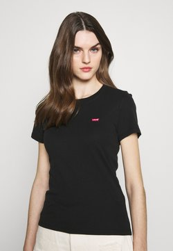 Levi's® - BABY TEE - T-shirt print - mineral black